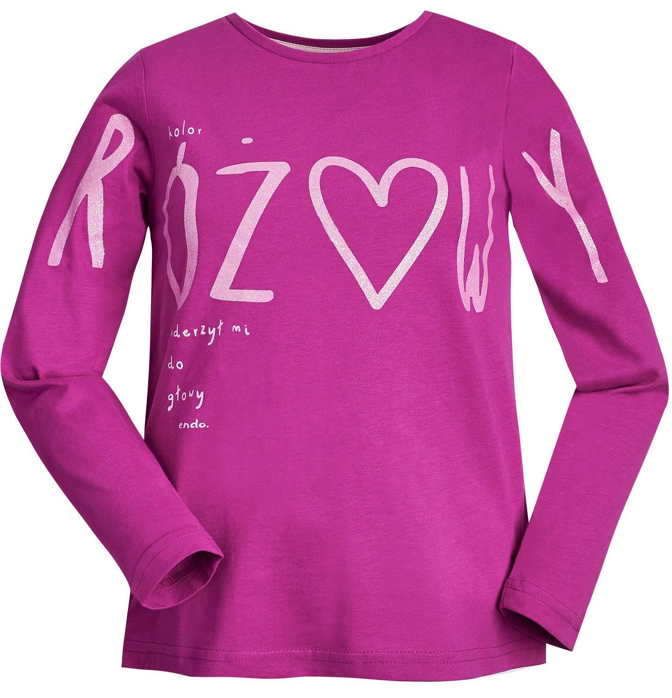 """Endo - """"Kolor różowy uderzył mi do głowy"""" Bluzka dla dziewczynki 3-8 lat D82G055_1"""