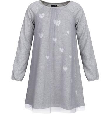 Endo - Sukienka dresowa dla dziewczynki 3-8 lat D82H026_1