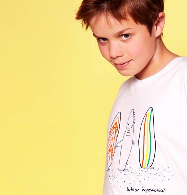 Endo - T-shirt z krótkim rękawem dla chłopca 9-13 lat C91G597_2
