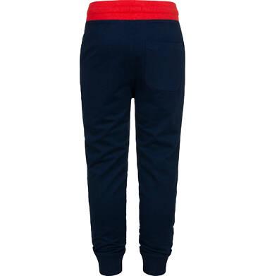 Endo - Spodnie dresowe dla chłopca, ciemnogranatowe, 2-8 lat C05K024_5,2
