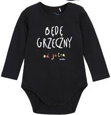 Body z długim rękawem dla niemowlaka N62M004_1