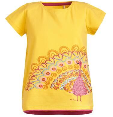 Endo - Tunika z krótkim rękawem dla dziewczynki 3-8 lat D81G076_1