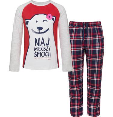 Endo - Piżama z długim rękawem dla dziewczynki 3-8 lat D92V010_1