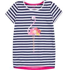 Tunika z krótkim rękawem dla dziewczynki 9-13 lat D71G651_1