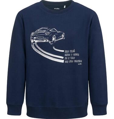 Endo - Bluza dla chłopca, z samochodem, granatowa, 9-13 lat C04C031_1 5