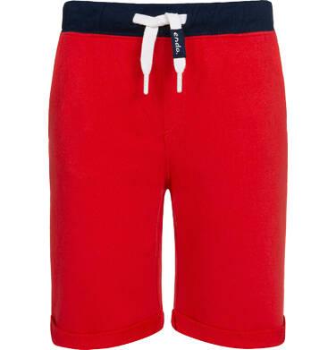 Endo - Krótkie spodenki dresowe dla chłopca, czerwone, 2-8 lat C05K034_4,1