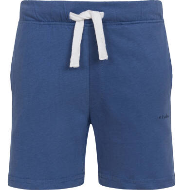 Krótkie spodenki dla chłopca, z kieszonką z tyłu, ciemnoniebieskie, 2-8 lat C05K046_5