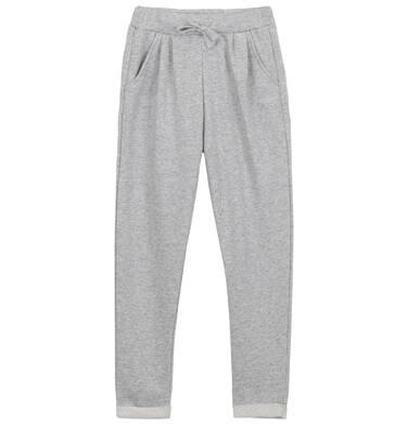 Endo - Spodnie dresowe ze srebrną nitką dla dziewczynki 3-8 lat D62K007_2
