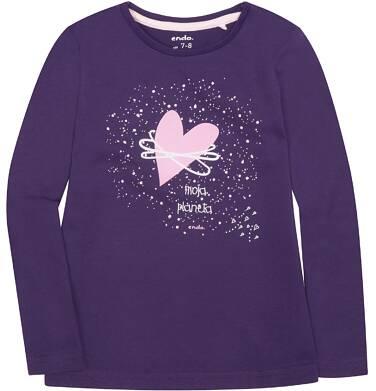 Endo - Bluzka z długim rękawem  dla dziewczynki 3-8 lat D72G079_1