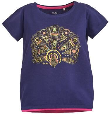 Endo - Tunika z krótkim rękawem dla dziewczynki 3-8 lat D81G077_1