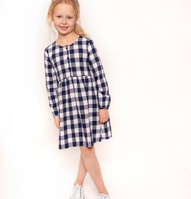Endo - Sukienka flanelowa z długim rękawem dla dziewczynki 3-8 lat D82H044_1
