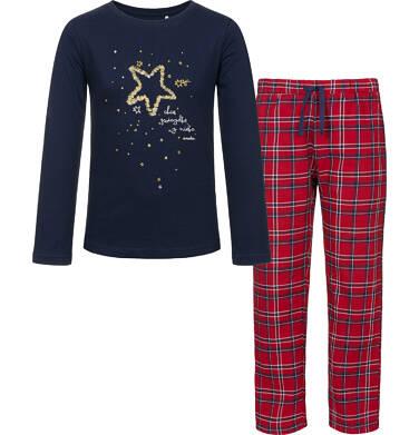 Piżama z długim rękawem dla dziewczynki 3-8 lat D92V011_1
