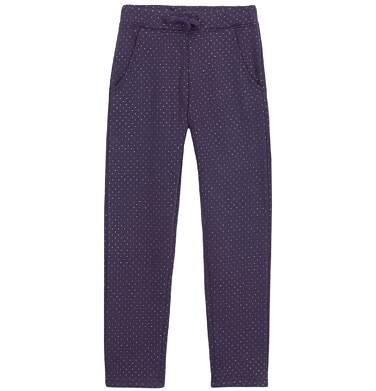 Endo - Grube spodnie dresowe z brokatem dla dziewczynki 3-8 lat D62K010_1