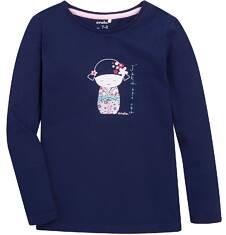 Endo - Bluzka z długim rękawem  dla dziewczynki 3-8 lat D72G057_1