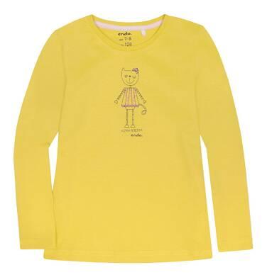Endo - Bluzka z długim rękawem  dla dziewczynki 3-8 lat D72G080_1