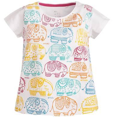 Endo - Bluzka z krótkim rękawem dla dziewczynki 3-8 lat D81G110_1
