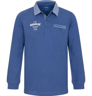Endo - Koszulka polo z długim rękawem dla chłopca 3-8 lat C92G003_2