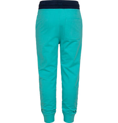 Endo - Spodnie dresowe dla chłopca, zielone, 9-13 lat C05K017_2,2
