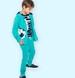 Endo - Spodnie dresowe dla chłopca, zielone, 9-13 lat C05K017_2,1
