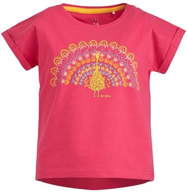 Endo - Bluzka z krótkim rękawem dla dziewczynki 3-8 lat D81G145_1