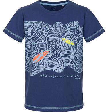 Endo - T-shirt z krótkim rękawem dla chłopca 3-8 lat C91G099_1
