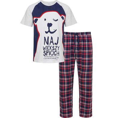 Piżama męska z krótkim rękawem Q92V002_1