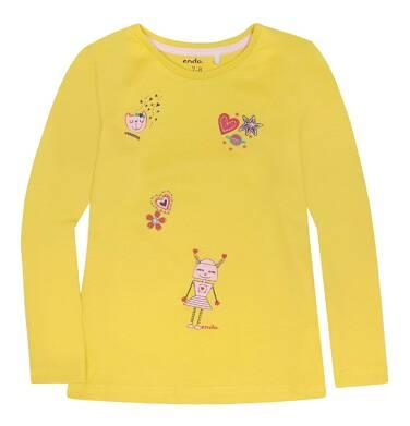 Endo - Bluzka z długim rękawem  dla dziewczynki 3-8 lat D72G082_1