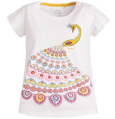 Endo - Bluzka z krótkim rękawem dla dziewczynki 3-8 lat D81G146_1