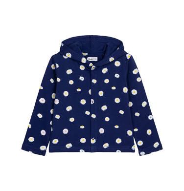 Endo - Bluza dla dziecka do 2 lat, ze stokrotkami, granatowa N05C010_1 18