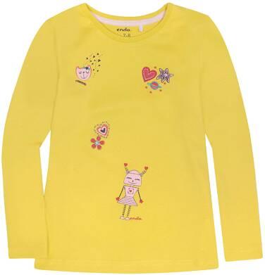 Endo - Bluzka z długim rękawem  dla dziewczynki 9-13 lat D72G582_1