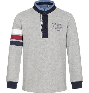 Endo - Koszulka polo z długim rękawem dla chłopca 9-13 C92G506_1