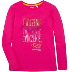 Endo - Bluzka z długim rękawem  dla dziewczynki 3-8 lat D72G126_1