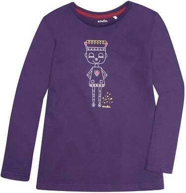 Endo - Bluzka z długim rękawem  dla dziewczynki 3-8 lat D72G083_1