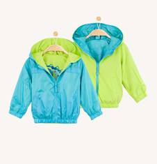 Dwustronna kurtka dla niemowlaka N61A018_1