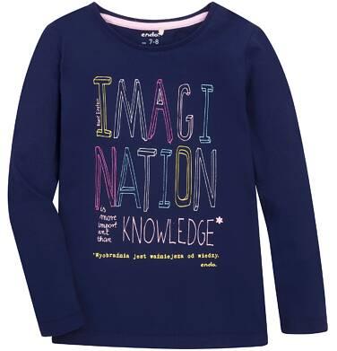 Endo - Bluzka z długim rękawem  dla dziewczynki 3-8 lat D72G131_1