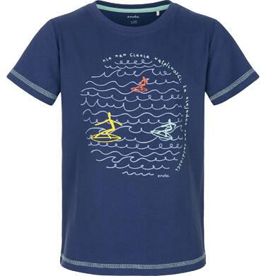 Endo - T-shirt z krótkim rękawem dla chłopca 9-13 lat C91G600_1