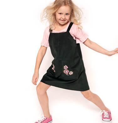 Endo - Sukienka na szelkach dla dziewczynki 9-13 lat D82H516_1