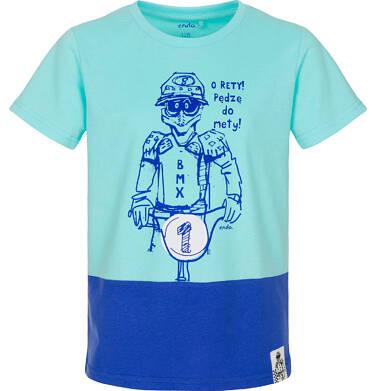 Endo - T-shirt z krótkim rękawem dla chłopca 9-13 lat C91G517_1