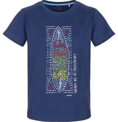 Endo - T-shirt z krótkim rękawem dla chłopca 3-8 lat C91G101_1