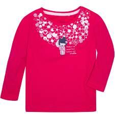 Lekko rozszerzana bluzka dla dziecka 6-36 m N72G019_1