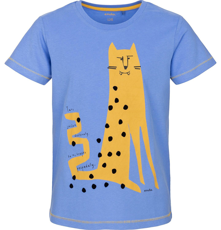 Endo - T-shirt z krótkim rękawem dla chłopca 3-8 lat C91G137_1
