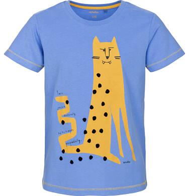 T-shirt z krótkim rękawem dla chłopca 3-8 lat C91G137_1