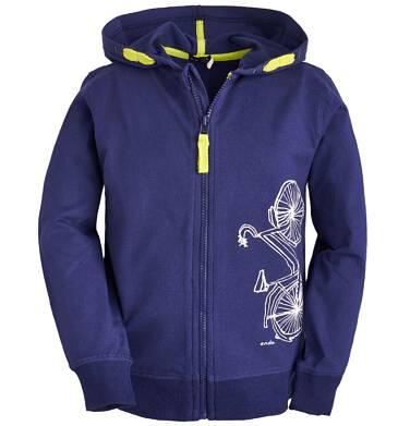 Endo - Bluza rozpinana z kapturem dla chłopca 9-13 lat C81C502_1