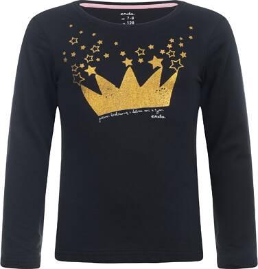 """Endo - """"Jestem królewną i dobrze mi z tym"""" T-shirt z długim rękawem 9-13 lat D82G544_2"""