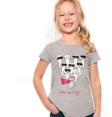 Endo - T-shirt z krótkim rękawem dla dziewczynki 3-8 lat D91G066_1