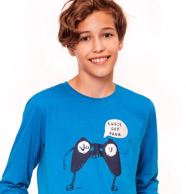 Endo - T-shirt z długim rękawem dla chłopca 9-13 lat C92G609_1
