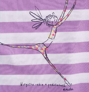 Endo - Tunika z krótkim rękawem i troczkiem dla dziewczynki 9-13 lat D71G595_1