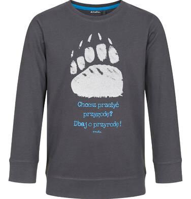 Endo - T-shirt z długim rękawem dla chłopca 3-8 lat C92G051_1