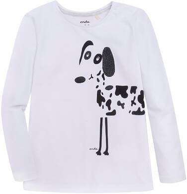 Endo - Bluzka z długim rękawem  dla dziewczynki 3-8 lat D72G018_2