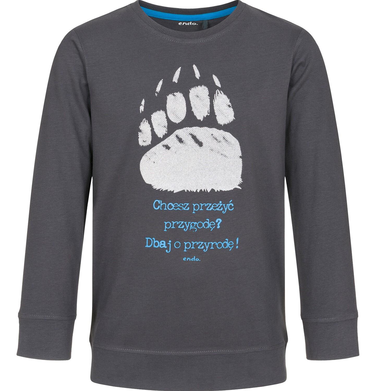 Endo - T-shirt z długim rękawem dla chłopca 9-13 lat C92G551_1